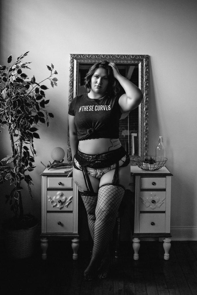 boudoir photo session